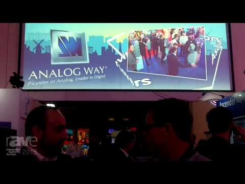 ISE 2015: Gary Kayye Talks with Adrien Corso, CEO of Analog Way