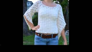 crochet shirt free patterns