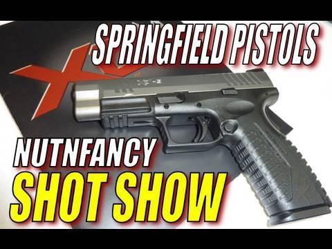 Nutnfancy SHOT Show: Springfield Pistols!