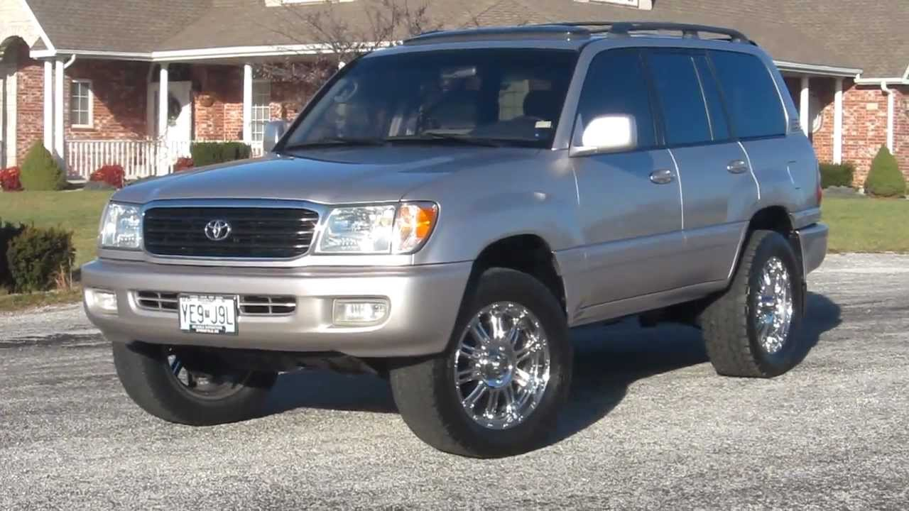 1999 toyota land cruiser for sale youtube