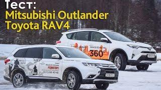 Test: Toyota RAV4 & Mitsubishi Outlander
