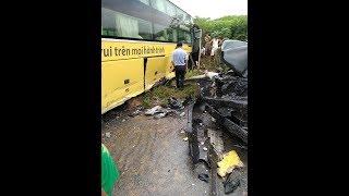 Tai nạn giao thông nghiêm trọng Km 81+200 Cao tốc Nội Bài - Lào Cai
