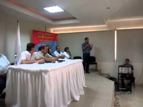 Intervención del alcalde Jorge Iván Salah en el inicio de la sesión descentraliza en Pivijay