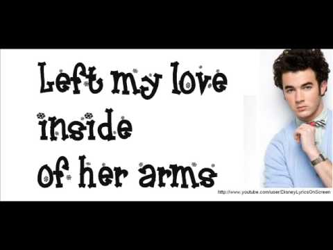 Kevin Jonas - Left My Heart In Scandinavia (Lyrics On Screen)