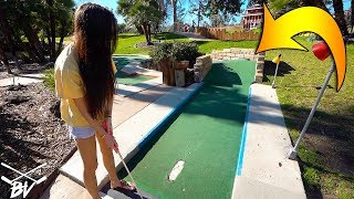 BUYING THE MINI GOLF STRUGGLE BUS AND A HOLE IN ONE AT SHERMAN OAKS CASTLE PARK!