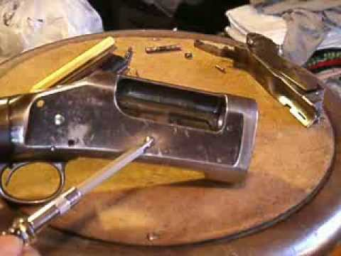 Winchester 1897 Receiver Disassembly, Part 1: Breech Bolt