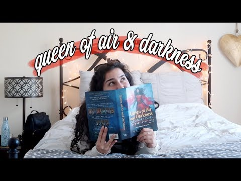 Queen of Air and Darkness Reading Vlog & Review!