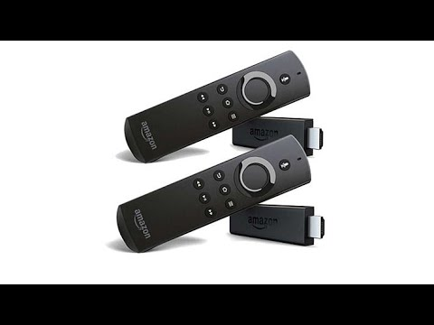 2pack Amazon Fire TV Sticks HD Streaming Media Players