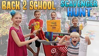 Back to School Scavenger Hunt!!