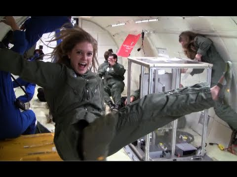 Carthage Microgravity Team 2011 — Floating in Zero Gravity