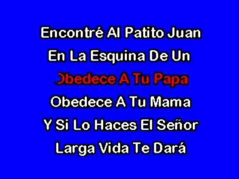 El Patito Juan (karaoke Infantil) video
