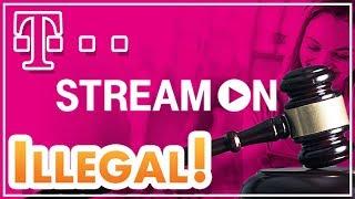 Telekom Stream On nun ILLEGAL? 😱