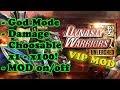 Dynasty Warriors Unleashed Ver. 1.0.29.11 MOD APK   God Mode   Damage x1 - x100   MOD on/off  