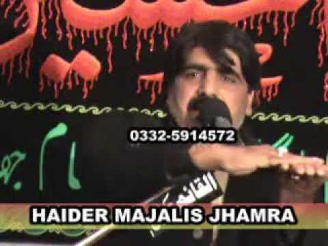 32 Zakir Ghazanfar Abbas Gondal 25th Muh2011 Imam Sajjad a s Jhamra Chakwal   YouTube