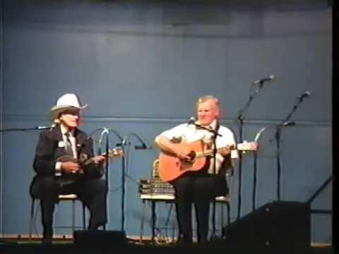 Rare Video - Bill Monroe&Doc Watson Duet - Sally Goodin - 1990