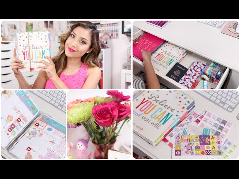 Erin Condren Life Planner Review + What's in my Desk