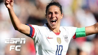 Carli Lloyd stars in USWNT's win vs. Chile, so why isn't she a starter? | FIFA Women's World Cup