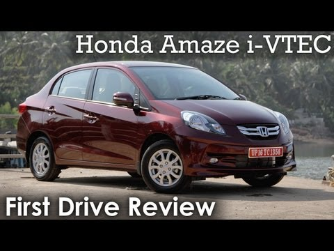 Honda Amaze i-VTEC (petrol) Review