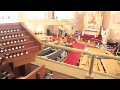 Birth Of A Pipe Organ @ Historic Trinity Lutheran Church