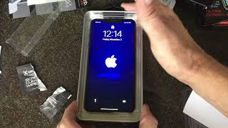 iPhone XS MAX Blackweb Screen Protector