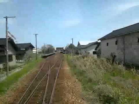 のと鉄道 前面展望 笠師保~田鶴浜~和倉温泉
