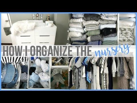 Easy Nursery Organization!