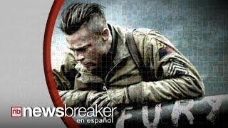 Brad Pitt enfrenta 300 Nazis en su cinta