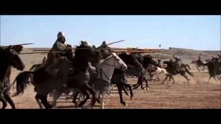 Kingdom of Heaven - Epic cavalry battle scene