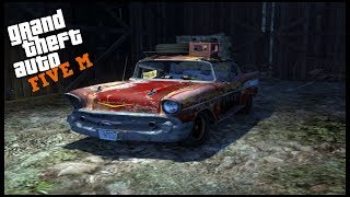 GTA 5 ROLEPLAY - RARE CHEVY BEL AIR BARN FIND - EP. 612 - CIV