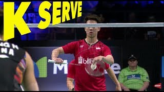 3 Types of Kevin Sanjaya SERVE