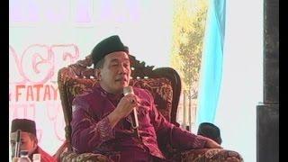 Pengajian lucu K. H. Amin Mustofa sampai turun panggung