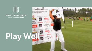 Gerard Pera's Long Drive Tips  for the RE/MAX WLDC Spain - PGA Catalunya Resort 2012