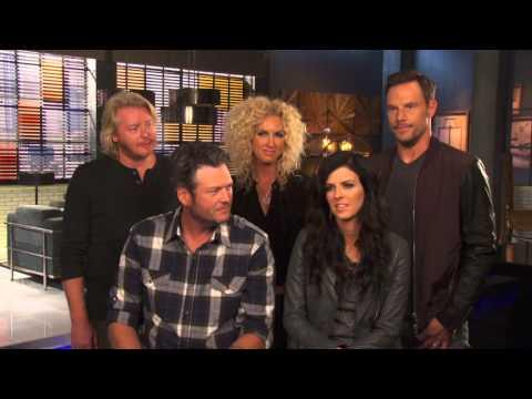 The Voice Season 7: Blake Shelton & Little Big Town Battle Rounds Interview