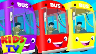 The Wheels On The Bus English Nursery Rhymes For Kids Children S Songs From Kids TV VideoMp4Mp3.Com