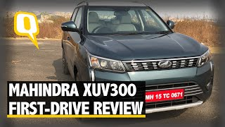 Mahindra XUV 300 First-Drive Review | The Quint