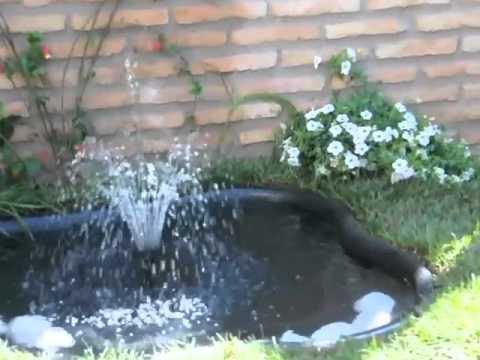 Guia de instalaci n de estanques con bomba y sistema de for Bombas para fuentes de jardin