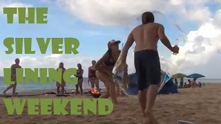 Silver Lining Weekend - Hawaii + beach + bubbles  - VLOGGING from Hawaii