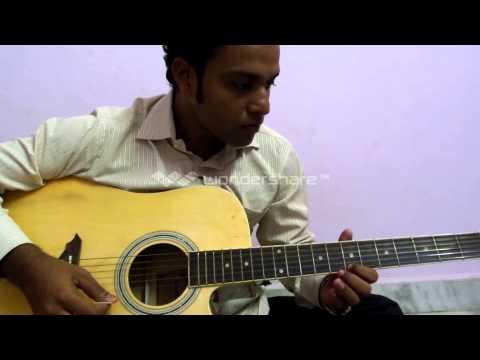 Tujhe dekha toh ye jana sanam(Film: DDLJ)Guitar leads played...