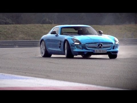 Mercedes SLS Electric Drive. Can Volts Ever Match Pistons? - CHRIS HARRIS ON CARS