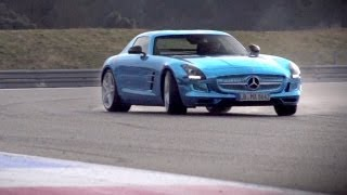 Mercedes SLS Electric Drive. Can Volts Ever Match Pistons  CHRIS HARRIS ON CARS