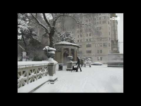 Major Snow Storm Hits New York City