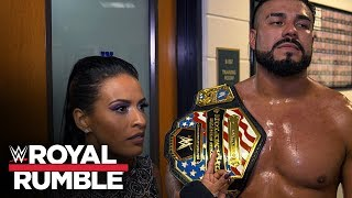 Andrade says he's the face of Latinos in WWE: Exclusive, Jan. 26, 2020