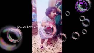 A beautiful baby ferfom great dance to dil ki chori song of yo yo honey sing