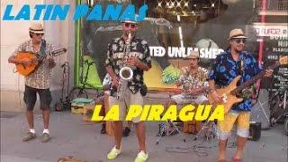 Impresionante Musicos callejeros, LATIN PANAS - LA PIRAGUA - Barcelona