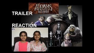 Twin Sisters Reaction on THE ADDAMS FAMILY HALLOWEEN TRAILER 2019