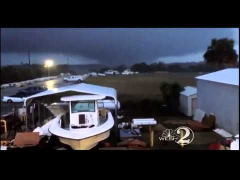 DEADLY DECEMBER TORNADOES RIP THROUGH SOUTHERN STATES MONDAY LEAVING TRAIL OF DESTRUCTION