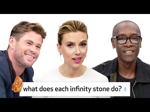 Avengers Endgame Cast Answer 50 of the Most Googled Marvel Questions  WIRED