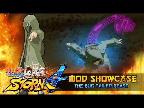 Shino Aburame The Bug Tailed Beast!!! Naruto Shippuden Ultimate Ninja Storm 4 Mod thumbnail