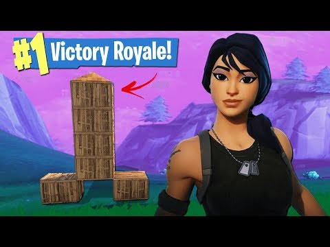 We Built THE WEIRDEST Trap Base for a VICTORY ROYALE in Fortnite! (Funny Moments)