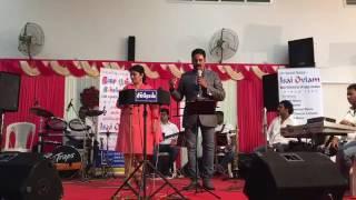 Ananthu performing -Unnai kaanadhu naan